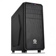 Thermaltake Versa H25 Midi Tower, Case per il PC, Nero