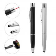 Quazar Power Pen 1000 mAh vésztöltős érintőceruza és toll, fekete