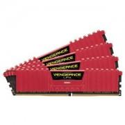 Mémoire RAM Corsair Vengeance LPX Series Low Profile 32 Go (4x 8 Go) DDR4 3600 MHz CL16 Kit Quad Channel 4 barrettes PC4-28800 - CMK32GX4M4B3600C16R (garantie à vie par Corsair)