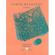 Timed Readings: Fifty 400-word Passages with Questions for Building Reading Speed Bk.Six by Edward Spargo