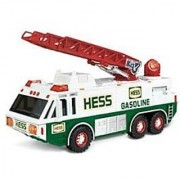 1996 HESS Emergency Ladder Fire Truck Toy Trucks [Holiday Gifts]
