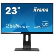 Monitor iiyama XUB2390HS-B1, 23'', LCD, IPS, 5ms, 250cd/m2, FullHD, HDMI, DVI-D, repro, pivot, výš.nastav.