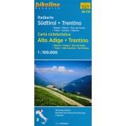 Fietskaart ST01 Bikeline Radkarte Südtirol Trentino | Esterbauer