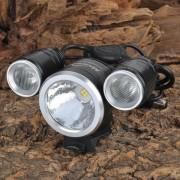 Magicshine MJ-816 Z7 y 1400lm 3-Mode 3 LED de luz blanca bicicleta (4 x 18650)
