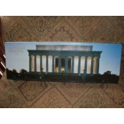 """Lincoln Memorial 12"""" by 36"""" Panoramic Puzzle Over 500 Pieces by Impact"""