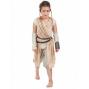 Vegaoo Rey Kostüm für Mädchen - Star Wars VII - hochwertig