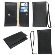 J Cover A5 Nillofer Leather Wallet Universal Pouch Cover Case For Apple iPhone 7 Plus 256GB Black