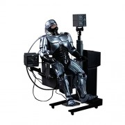 Hot Toys Movie Master Piece - Robocop: Robocop With Mechanical Chair (Docking Station)