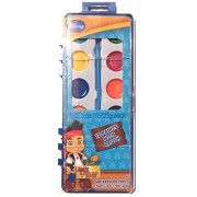 Jake Water Paint. Kids Coloring Set With 1 Brushes Included. 12 Colors. Great For Indoor Or Outdoor Play. Help Your Child Increase Imagination And Creativity By This Wonderful Activity. Great Gift