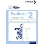 Numicon: Geometry, Measurement and Statistics 2 Explorer Progress Book by Sue Lowndes