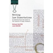 Writing Law Dissertations by Michael Salter