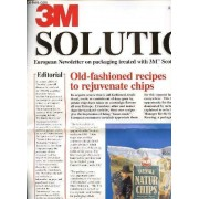 3m Solution N°3 / Autumn-Winter 1997 - Old-Fashioned Recipes To Rejuvenate Chips / Cham-Tenero Group 25 Years-Scotchban / Awards : European Winners Announced / Papeteries De Cran / Etc.