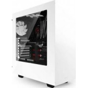 Carcasa NZXT Source 340 Mid Tower Windowed fara sursa White