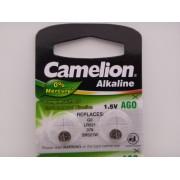 Camelion AG0 baterie ceas 1.5V, alcalina LR521, 379, SR521W blister 10