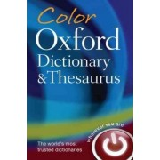 Color Oxford Dictionary and Thesaurus by Charlotte Livingstone