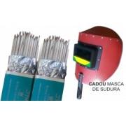 ELECTROZI CUPRU 3.2 A008-4 JT-T107 / 2 PACHETE + MASCA SUDURA CADOU