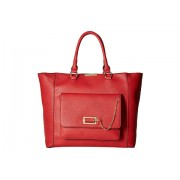 Gabriella Rocha Trista Satchel with Front Pocket Red
