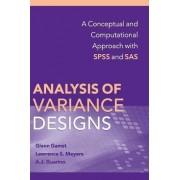 Analysis of Variance Designs by Glenn C. Gamst