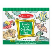 Melissa & Doug Animals Coloring Pad - Green - 4200