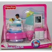 Loving Family Scrub-a-Dub Tub Bathroom Set [2001 Release]