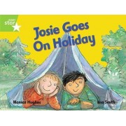Rigby Star Guided 1 Green Level: Josie Goes on Holiday Pupil Book (Single) by Monica Hughes