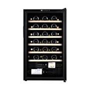 La Sommeliere CVD50 1 zone 48 bottle Wine Cooler with Digital Display