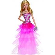 Barbie Ruffle Gown Doll