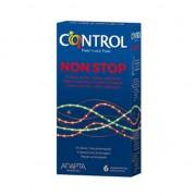 Control non stop profilattici in gomma naturale effetto ritardante e stimolante confezione da 6