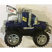 King-1 Racer Off Road Friction Royal Blue Truck Ready to Run