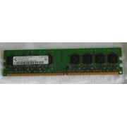 Une Barrettes Mémoires pour PC Qimonda HYS64T128020EU-2.5-B2 Y1D80619078 1GB DDR2 RAM PC2-6400U-666-12-EO 800MHO