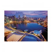 Puzzle orizontul orasului singapore 1000 piese