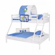 Dečiji krevet na sprat Maxim Beli Space