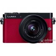 Aparat foto Panasonic Lumix DMC-GM5K (12-32mm), roșu