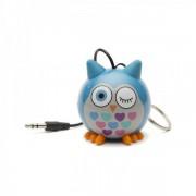 Boxa portabila KitSound Trendz Mini Buddy Owl 2 W blue