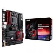 Asus 970 PRO Gaming/Aura Scheda Madre, Nero/Rosso