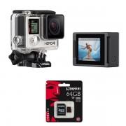 GoPro HERO4 Silver Edition - cu card 64Gb 4K