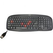 Quantum QHM7408 USB Wired USB Standard Keyboard
