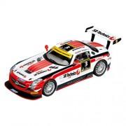 Carrera Evolution - 20027427 - Voiture De Circuit - Mercedes-benz Sls Amg Gt3 Noir Falcon - No.3 - 24h Dubai 2012
