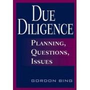 Due Diligence by Gordon Bing