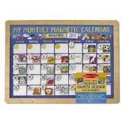My Monthly Magnetic Calendar + Free Melissa & Doug Scratch Art Mini Pad Bundle [37884]