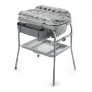 CHICCO Cuddle & Bubble Comfort Bad-/ Aankleedcombinatie SILVER