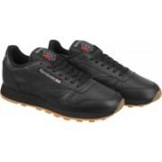 Reebok CL LTHR Sneakers(Black)
