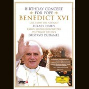 Hilary Hahn & Gustavo Dudamel - Birthday Concert for Pope Benedict XVI (0044007343579) (1 DVD)