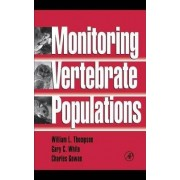 Monitoring Vertebrate Populations by William L. Thompson