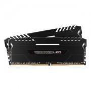 Memoire RAM Kit Dual Channel 2 barrettes CORSAIR VENGEANCE LED SERIES 32 GO (2X 16 GO) DDR4 3000 MHZ CL15 PC4-24000