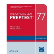 The Official LSAT Preptest 77 by Law School Admission Council