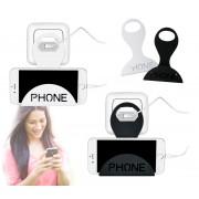 690043 Supporto da presa universale per ricarica smartphone salvaspazio