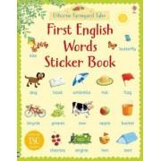 Farmyard Tales First English Words Sticker Book by Heather Amery