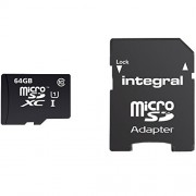 Card Memorie Micro SDHC CL10 90MBS 64GB Integral