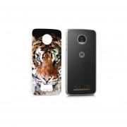 Funda Para Celular Motorola Moto Z Play - Tigre Color